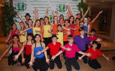 Jr. Ballroom Team at Emerald Ball