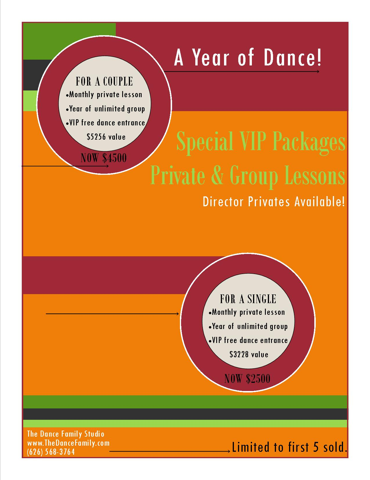 Year of Dance VIP